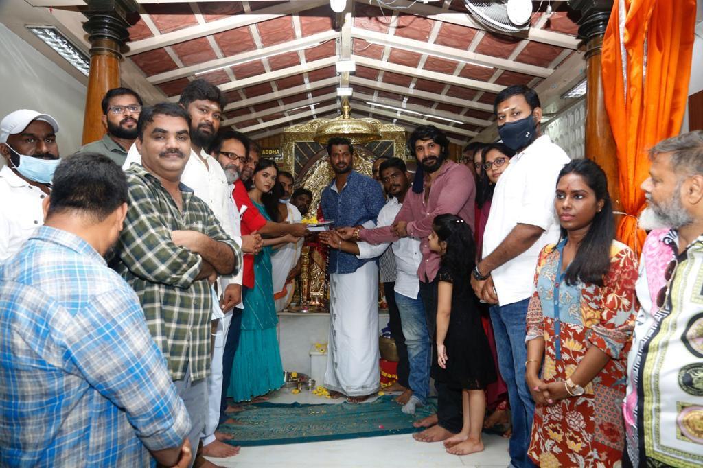 Vishal, A Vinoth Kumar, Rana Productions Pan India Film Launched