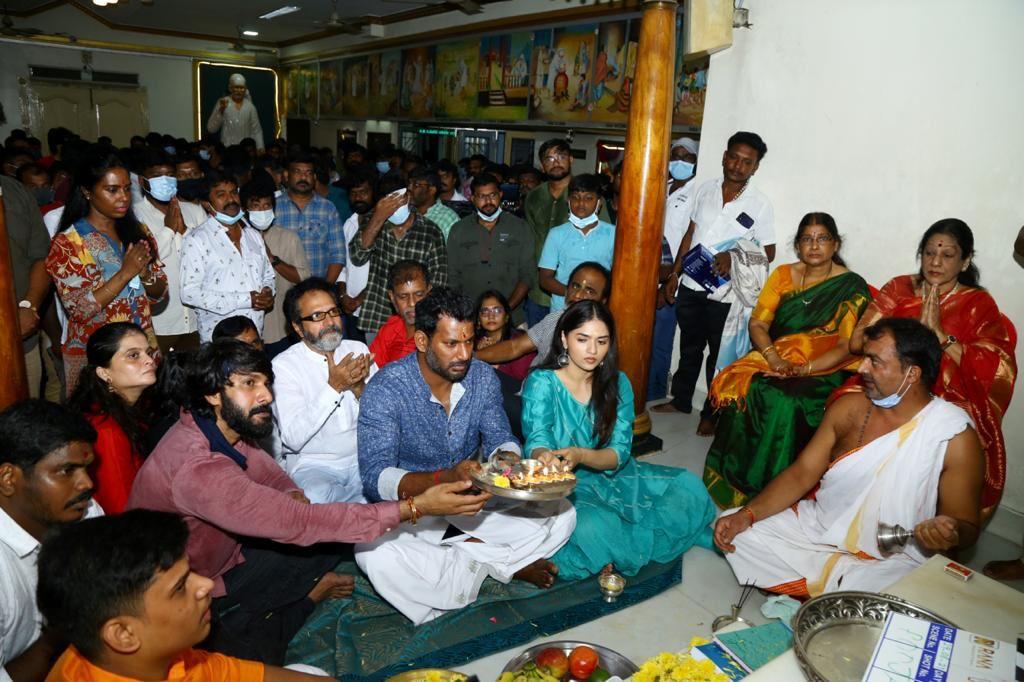 Vishal Sunaina Film Launched