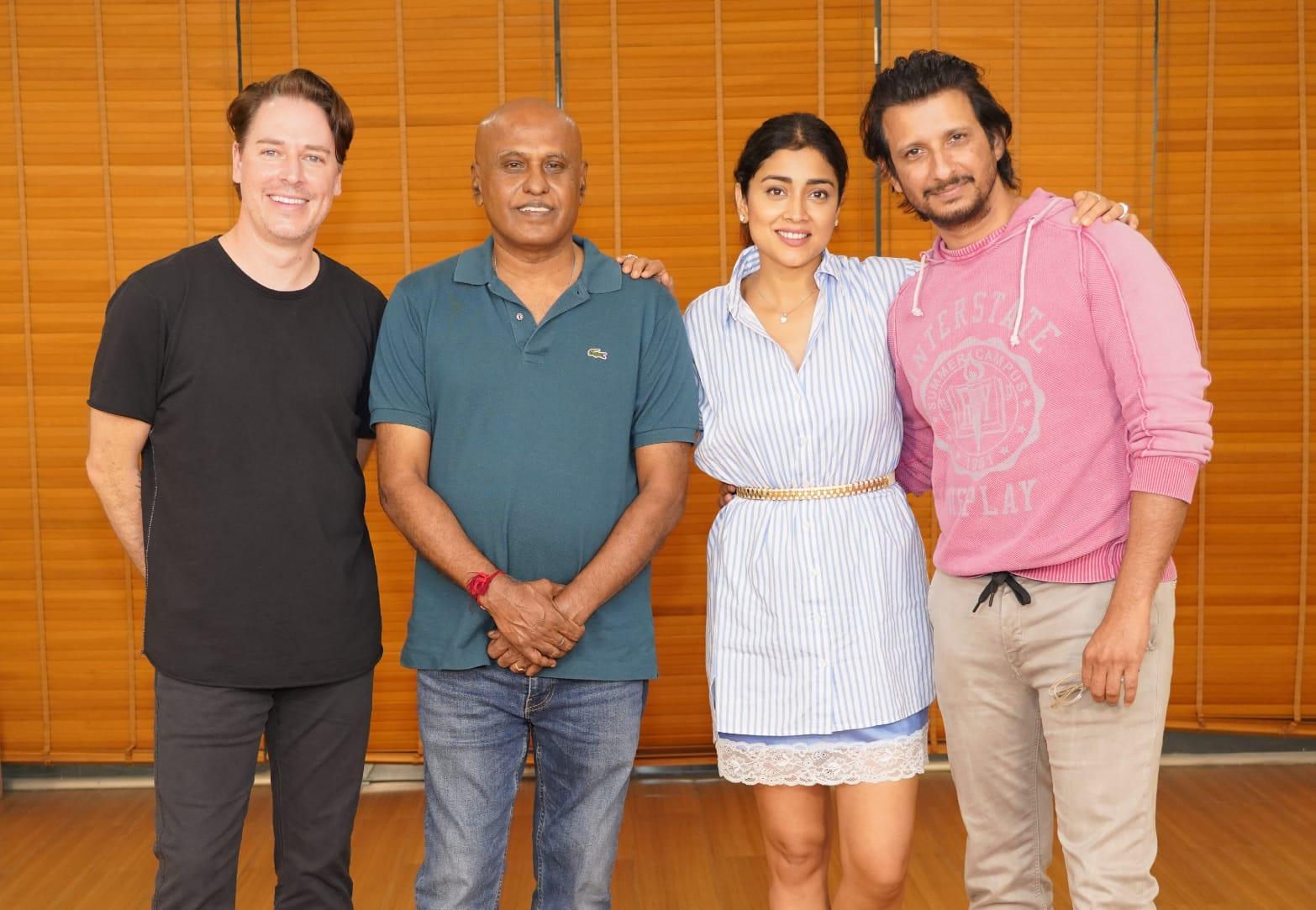 Yamini Films announces Music School by Ilaiyaraaja starring Sharman Joshi Shriya Saran