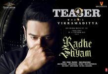 Prabhas as Vikramaditya Radheshyam Teaser